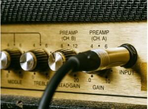 Stereo tube amp